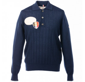 PULL COL POLO MARINE