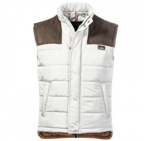 Beige/Brown non sleeves jacket
