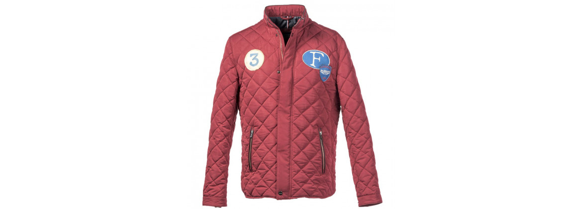Jacket super driver rouge