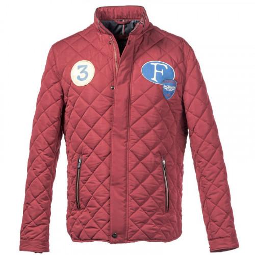 Jacket super driver rouge