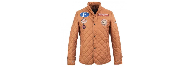 Jacket super driver Orange