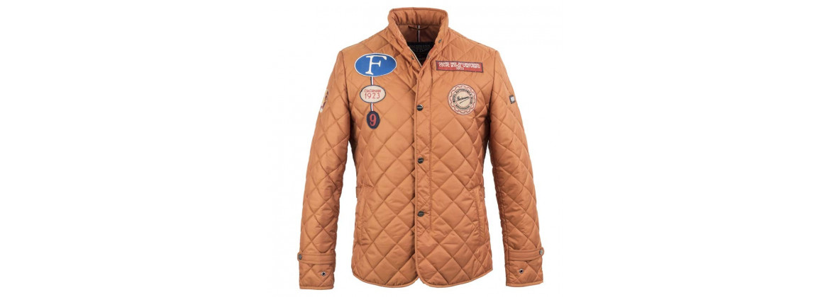 Jacket super driver Orange