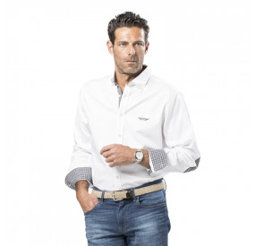 Chemise Oxford coudieres