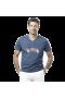 T-Shirt col V imprimé voiture
