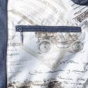 Manteau doudoune marine