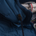 NAVY WINTER JACKET WITH REMOVABLE SLEEVES