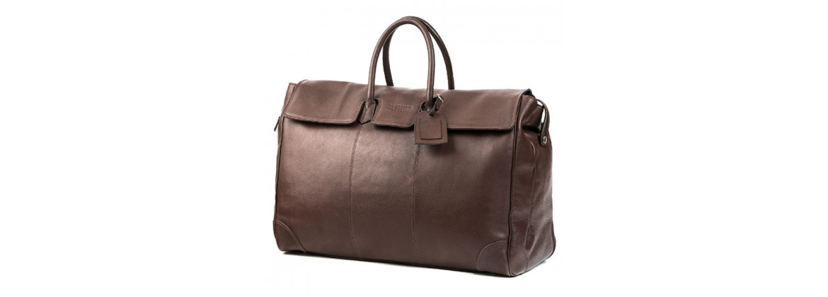 Sac Cuir Marron 48h