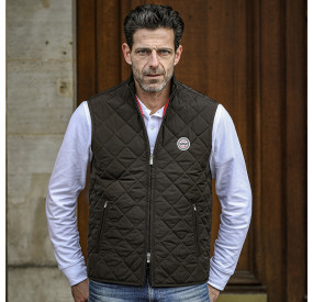 NAVY PADDED CARDIGAN FOR GENTLEMAN DRIVER