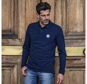 POLO MANCHES LONGUES NAVY