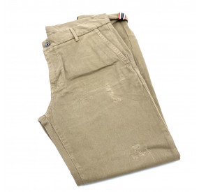 CHINO BEIGE CAFE IMPRIME