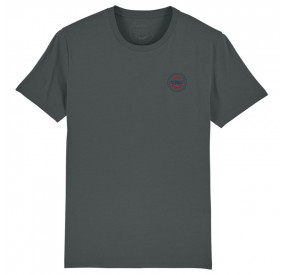 T-SHIRT COL ROND ANTHRACITE