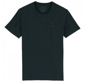 BLACK ROUND -NECK T-SHIRT BACHMANN