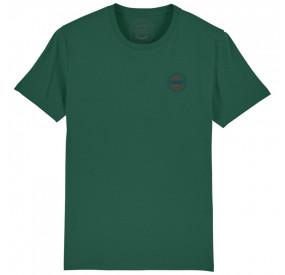 GREEN ROUND -NECK T-SHIRT BACHMANN
