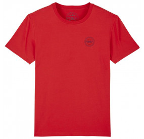 T-SHIRT COL ROND ROUGE