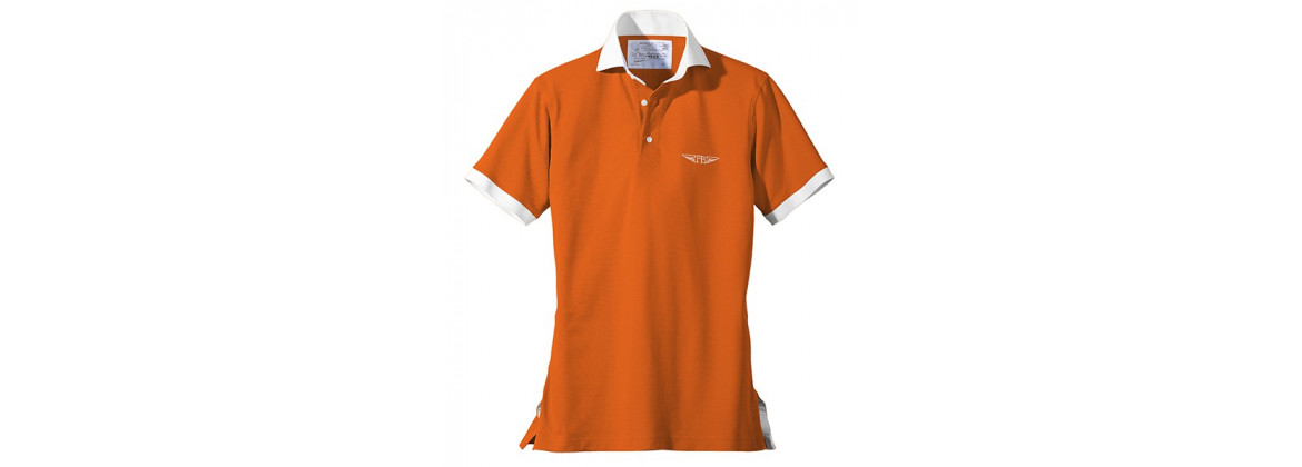 "Polo ""Élégance"" Orange"
