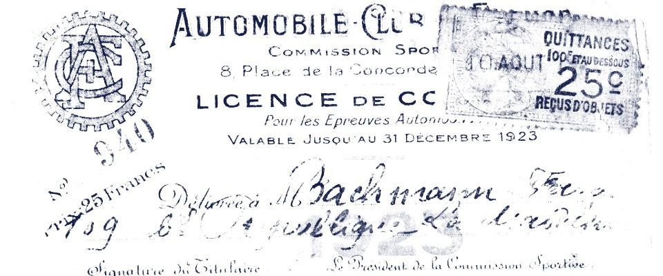 Fernand BACHMANN - 30 rue Gustave Courbet 75116 Paris